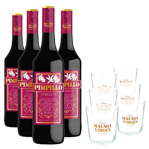 La Hora del Vermouth - Pack 4 Botellas de Vermouth Pimpillo 75cl