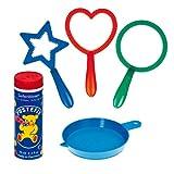 Carrera Toys- Mini-Mix Juego con 3 Anillos para Hacer pompas de jabón, 70 ml,...