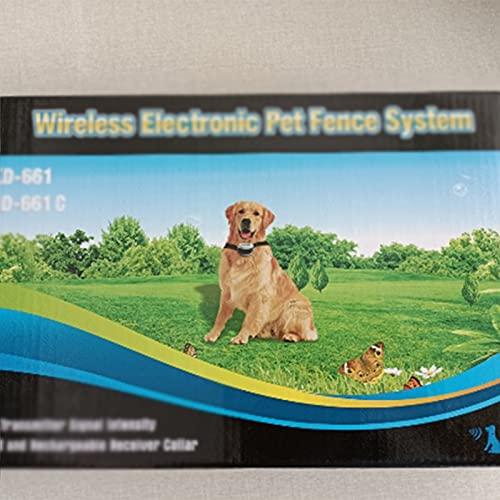 Shjjyp Collar Antiladridos para Perros para Addestramento Automático con Ajustable Vibración sin...