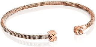 Rose Gold Plated Eklat Bracelet with Topaz