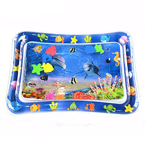 YUY Baby Water Mat,Water Play Mat For 3 6 9 Months Baby Infant Toy Newborn Boy Girl,A
