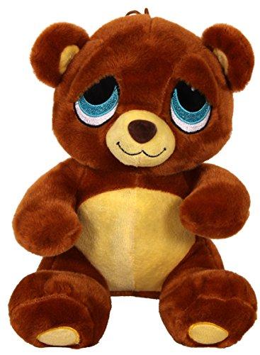 Trauriger Teddy Bär ca 26cm mit glitzeraugen