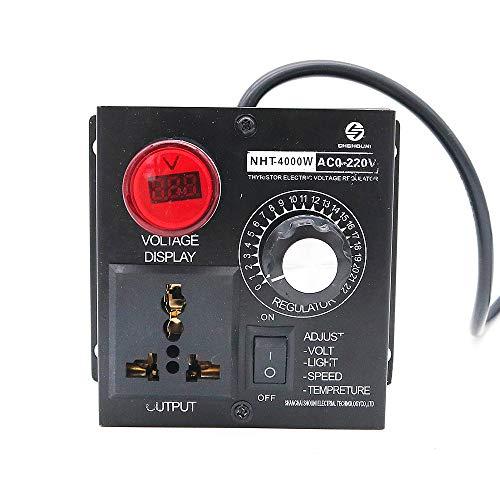 DollaTek AC 220v 4000w regulador de voltaje ajustable controlador de velocidad del motor controlador de control del ventilador