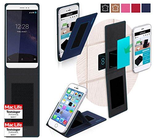 reboon Hülle für Coolpad Porto S Tasche Cover Case Bumper | Blau | Testsieger