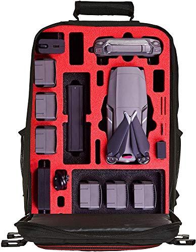 MC-CASES® Rucksack für DJI Mavic 2 Pro oder Zoom/Enterprise - Standard oder DJI Smart Controller - Extrem komfortabel - Viel Platz