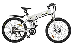 LLobe Adult Electric Bicycle Sport, White, One size