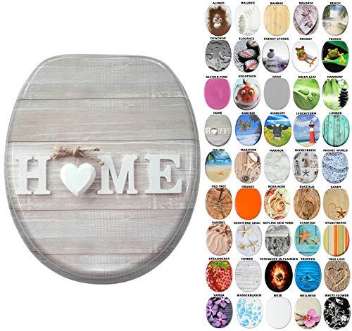 WC Sitz, viele schöne WC Sitze zur Auswahl, hochwertige und stabile Qualität aus Holz (Home)