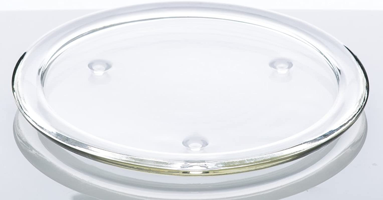 Richland 8 Glass Pillar Plate Set Of 8