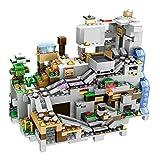 Rawikan Casa de árbol de pueblo cueva y muñeco móvil, juguete de construcción para niños (compatible con Lego) 776 piezas