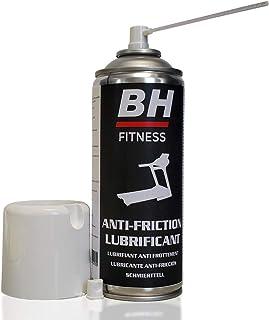 BH Fitness - Spray lubricante para cintas de correr - 400ml - Compatible con cintas domésticas - 72