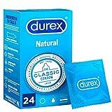 Durex Preservativos Originales Natural Plus - 24 condones