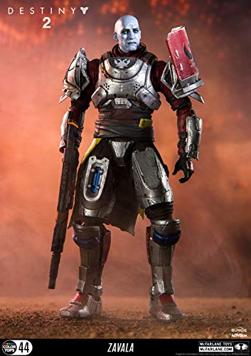 McFarlane Toys 13043-0 Destiny 2 Zavala Collectible Action Figure