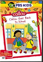 Best of Caillou: Caillou Goes Back to School [DVD]
