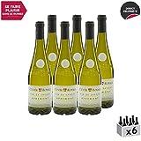 Vin de Savoie Cuvée Royale Apremont Vieilles Vignes Blanc 2018 - Maison Perret - Vin AOC Blanc de Savoie - Bugey - Cépage Jacquère - Lot de 6x75cl