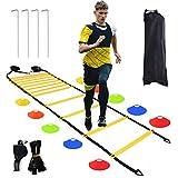 Équipement d'entraînement de Vitesse,Entrainement Football,Materiel sport,Échelle Ent...