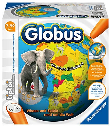 tiptoi® Der interaktive Globus: Wissen und Spiele rund um die Welt