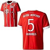 adidas FC Bayern München FCB Herren Home Trikot 2017 2018 Mats Hummels 5 Gr XL