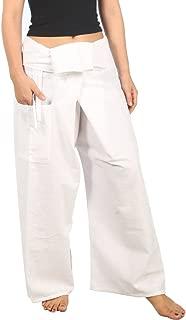 Women's Lounge Plain Cotton Pants Thai Fisherman Yoga Trousers