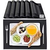 STANA - Platzset - 6er Tischset - Platzdeckchen | Tischsets abwaschbar | Hochwertige Tischunterlage | rutschfeste Tischsets abwaschbar | Deutsche Qualitätsmarke
