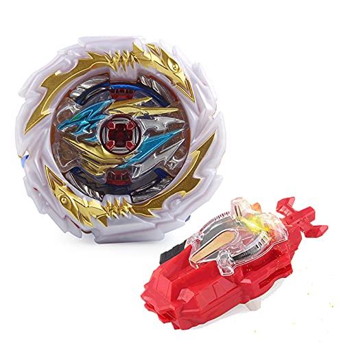 Zimrobin Beyblade Burst Turbo Set,Peonzas Juguetes Conjunto,Burst Turbo Launcher Set,Navidad Regalo, Regalo para Los Niños
