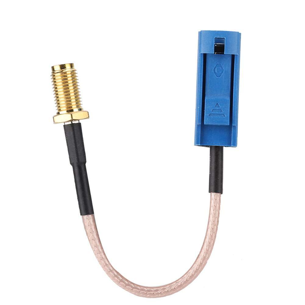 Lazmin Adaptador, Cable Adaptador de Antena GPS para Coche de 13 ...