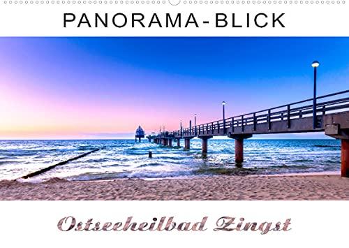 Panorama-Blick Ostseeheilbad Zingst (Wandkalender 2022 DIN A2 quer)