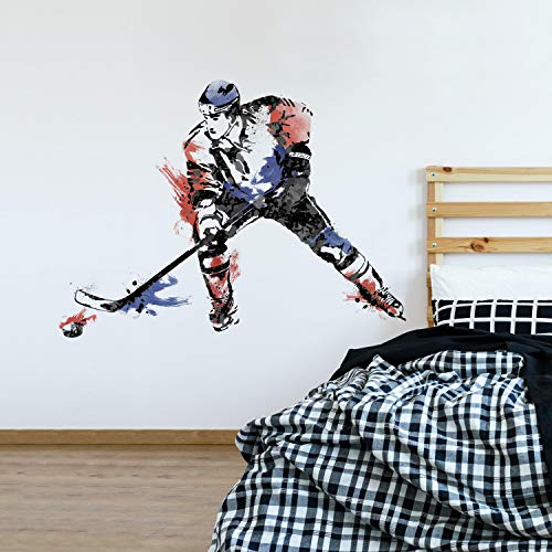 Top hockey wall decal personalized for 2020