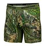 Mossy Oak Camo Boxer Brief Underwear for Men, Obsession, X-Large