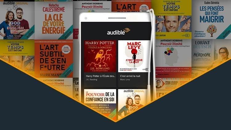 Offre Audible 2 livres audio gratuits au choix