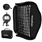 Best Softbox For Speedlights - GODOX Foldable Grid Softbox 60x60cm 24x24in with S2 Review