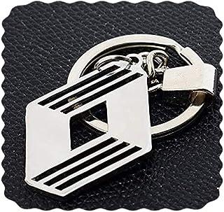 ميدالية مفاتيح سيارة رينو من الفولاذ المقاوم للصدأ