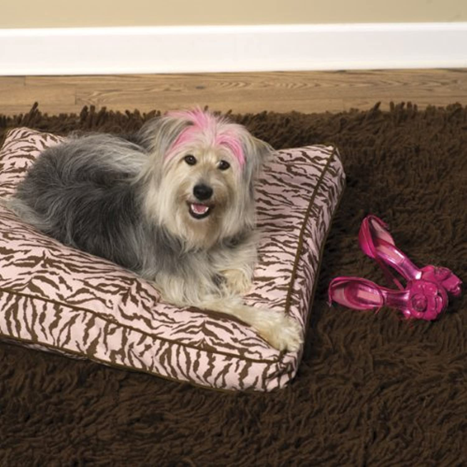 Pink Tarzan Pillow Pet Bed