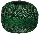 Handy Hands Lizbeth Premium Cotton Thread, Size 40, Evergreen Dark
