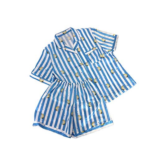 JLTPH KPOP Pijama Versión de Dibujos Animados Pijama de Harajuku Camisa de Manga...