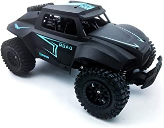 RC Hobby Toys Military Truck Off-Road Sport Cars Gifts for Kids and Adults (Blue) (Black)