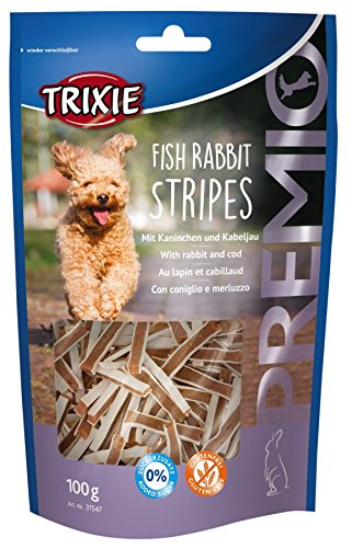 Trixie 31547 PREMIO Fish Rabbit Stripes, 100 g