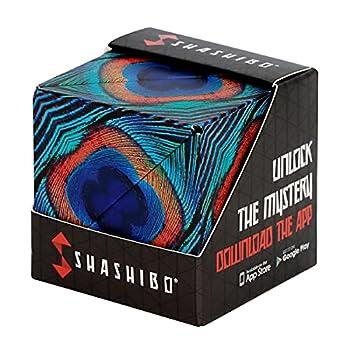 SHASHIBO Shape Shifting Box - Award-Winning Patented Fidget Cube w/ 36 Rare Earth Magnets - Extraordinary 3D Magic Cube – Shashibo Cube Magnet Fidget Toy Transforms Into Over 70 Shapes  Wings