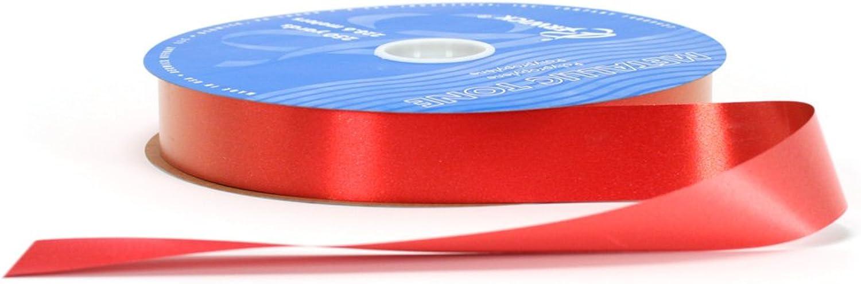 Berwick TP8 13 Metallic Tone Metallized Poly Craft Ribbon, 11 4Inch Wide by 250Yard Spool, Red