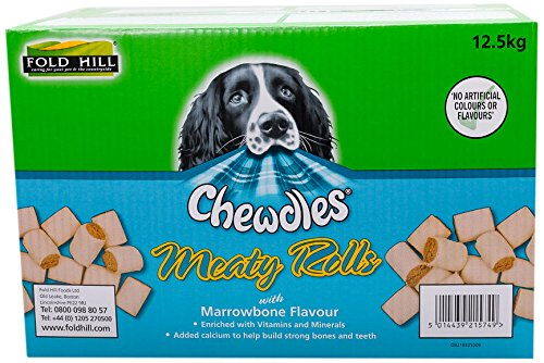 Chewdles Meaty Marrowbone Rolls Dog Treats, 12.5 kg