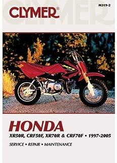 Clymer Repair Manuals for Honda XR50R 2000-2003