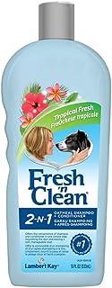 Fresh N Clean 21602 2-in-1 Oatmeal with Shampoo, Tropical Scent, 18 oz