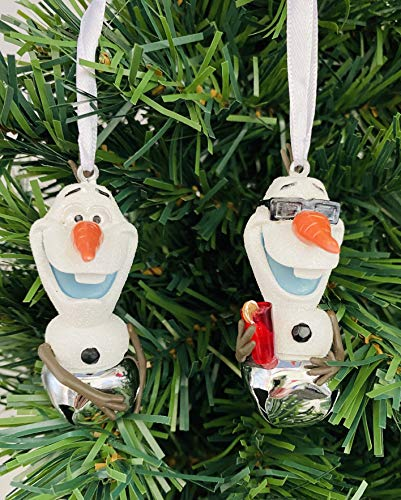 Ornaments Olaf Christmas Includes 2 Olaf Bell 2.5' Tall