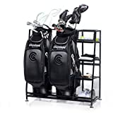 Milliard Golf Organizer - Extra Large Size - Fit 2 Golf Bags and Other Golfing Equipment and Accessories in This Handy Storage Rack - Great Gift Item