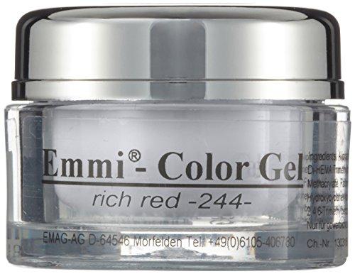 Emmi-Nail Rich Red, Lot de 2 (2 x 5 ml)