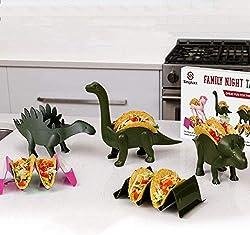 5. Dinosaur Taco Holder Set of 4 Family Pack