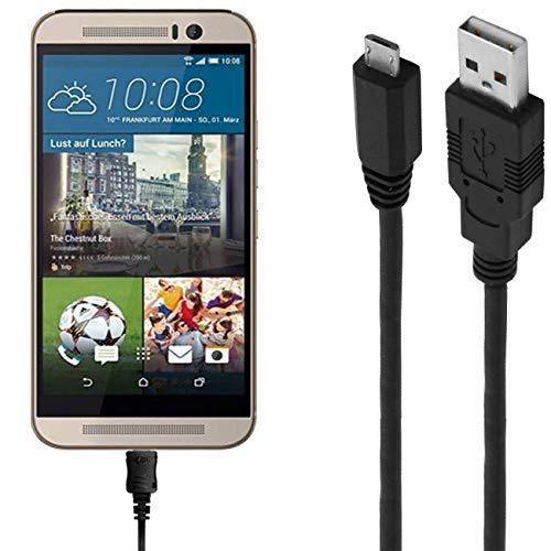 ASSMANN Ladekabel/Datenkabel kompatibel für HTC One M9s - Schwarz - 1.8M
