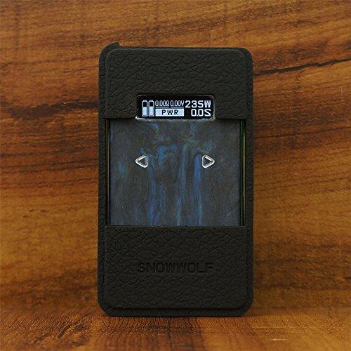 ModShield SnowWolf 200W R 235W TC Silicone Case ByJojo SnowWolf Resin 200W Cover Wrap Shield Skin (Black)
