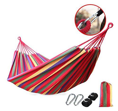 Hamac Camping-Hamac-Spacieux, Léger Et Super Confortable-Pliant Hamac Portable Parachute Est Parfait pour La Randonnée, Arbre, Cour Et Voyage en Plein Air