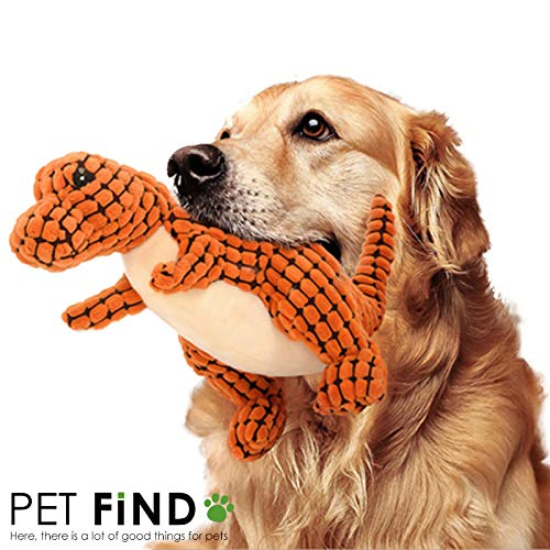 恐竜 おもちゃ 犬のおもちゃ DOG TOY 犬 音が鳴るおもちゃ ストレス解消 話題のおもちゃ 鳴き笛 即納 オレンジ