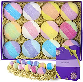 Spa Luxetique 12 X 3.2 oz Bubble Bath Fizzies
